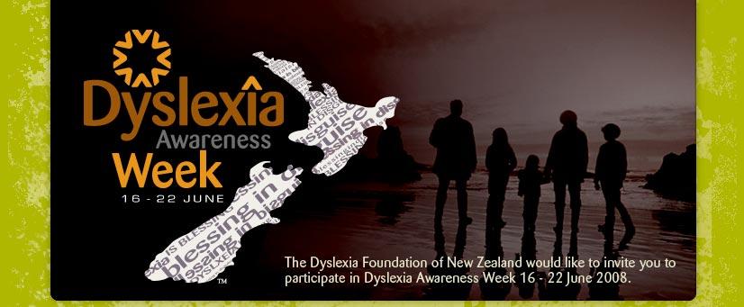 Dyslexia Awareness Week 16 - 22 June, 2008 - A Blessing in